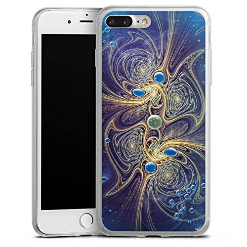 Apple iPhone X Slim Case Silikon Hülle Schutzhülle Perle Ozean Perlen Silikon Slim Case transparent
