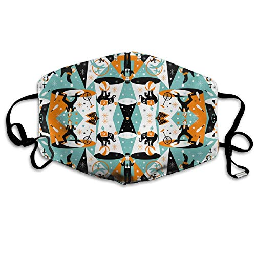 Masken,Masken für Erwachsene,in The Spotlight â€?Circus Performers Washable and Reusable Cleaning Mask,For Allergens,Exhaust Gas,Running,Cycling,Outdoor Activities