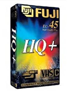 FUJI - 2 Cassettes VHS-C EC-45 - Pour Caméscope