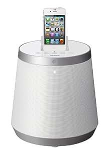 Onkyo RBX-500 (W) iLunar 3D Dock-Musiksystem für Apple iPod/iPhone (Bluetooth, Ladefunktion) weiß