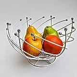 Best Fruit Bowl - NAOE™ EOAN International {Lotus}Stainless Steel Fruit Basket -1pcs Review