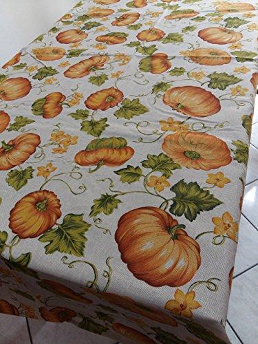 Tischdecke Kürbis Herbst Dekorieren Sie Ihr Tisch mit Eleganz und Stil Halloween cm. 140x240