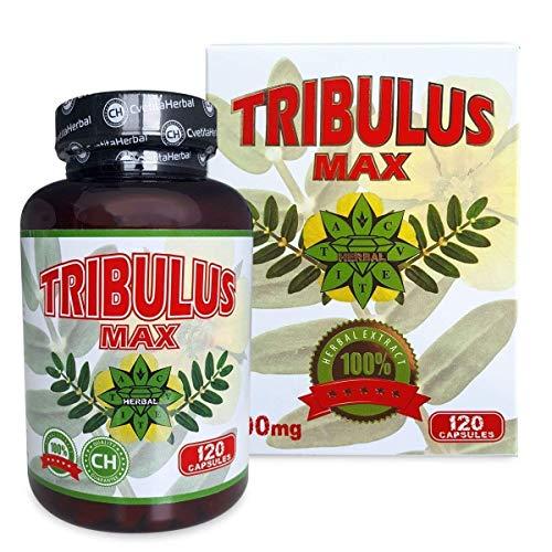 Cvetita herbal, Bulgarisch Tribulus Terrestris 120 Kapseln Extrakt, Testosterone booster, Muskelmasse - Herbal Testosterone