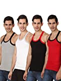 HAP KINGS RIB MENS GYM VEST MULTICOLOR P...