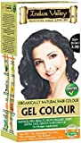 Indus Valley Gel Herbal Based Hair Dye Colour Kit is PPD Free, Ammonia Free And Peroxide Free no heavy metals and no Hydrogen Peroxide Colouring. Cover Up Your Grey with a 90% Chemical free Organic Natural Henna & Herbs Colourant Product. For Men And Women...IMPORTANT, please hovering over the color guide image (Dark Brown)