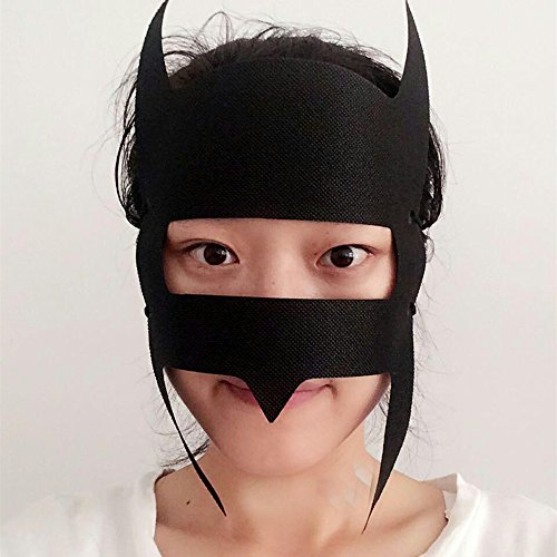 jackie-pack-of-50pcs-vr-bat-shaped-disposable-virtual-reality-hygiene-black-mask-for-vr-headset