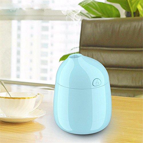 Detome Luftbefeuchter Luftbefeuchter Indoor Anti-Dry portable Mini-USB-Nebelmaschine (Blau)