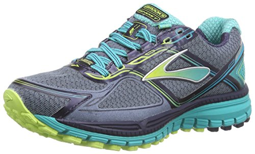 BrooksGhost 8 GTX - Scarpe Running Donna Multicolore ( Storm / SharpGreen / Ceramic )
