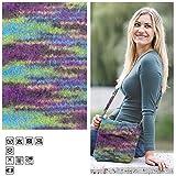 Creative Discount Filzwolle Color, 50g, Fb.42, Lila Grün Multi