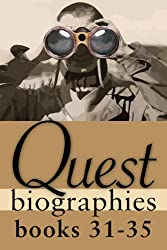 Quest Biographies Bundle - Books 31-35: Harriet Tubman / Laura Secord / Joey Smallwood / Prince Edward, Duke of Kent / John A. Macdonald (Quest Biography)