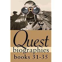Quest Biographies Bundle — Books 31–35: Harriet Tubman / Laura Secord / Joey Smallwood / Prince Edward, Duke of Kent / John A. Macdonald (Quest Biography)