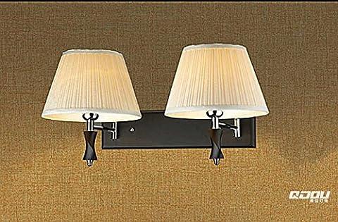 SKTDBG Upscale twist styling Dual Head helle Wände des bed Wandleuchte schwarz Holz Lampe Kipphebel?
