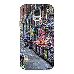 Color Art Streets Back Case Cover for Samsung Galaxy S5