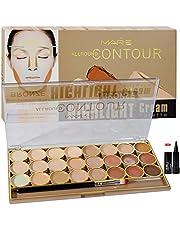 Adbeni Mars All Rpund Contour Bronze Highlight Cream Palett