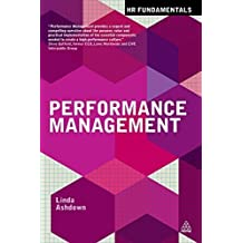 Performance Management (HR Fundamentals) by Linda Ashdown (2014-08-03)