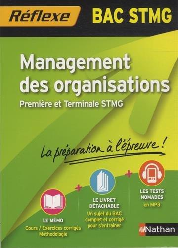 Management des organisations Bac STMG par Caroline Gonnet, Emmanuelle Marsot