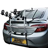 Maypole BC2085 Alloy Bicycle Carrier Rear-Mounted for 3 Bikes