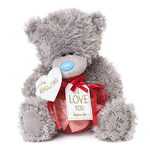 Me to You VPD01003 Signature Collection Love Notes Tatty Teddybär, Nylon/A