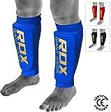 RDX Schienbeinschoner MMA Boxen Schienbeinschutz Kampfsport Kickboxen Schienbein Beinschützer Schienbeinschützer (CE Bescheinigt Genehmigt Durch SATRA)