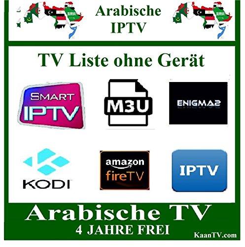 ARAB IPTV ARABISCHE TV SENDER OHNE GERÄT 4 JAHRE FREI & TOP QUALITÄT IPTV ARABIC IPTV 4 YEARS