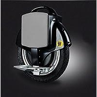 oO Monociclo eléctrico con batería extraíble de polímero 100% segura y puede recargarse fuera del monociclo. Motor 450 W, autonomía 25 km y velocidad 20km/h. Varios colores. (Negro)