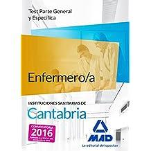 Enfermero/a de las Instituciones Sanitarias de Cantabria. Test parte general y específica