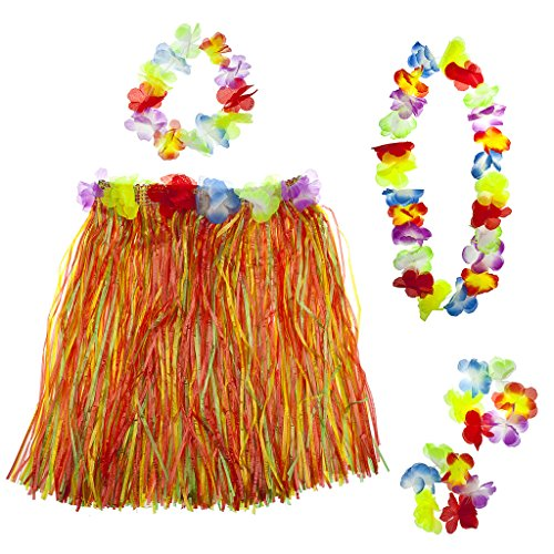 lor Halloween Tropical Hawaiian Lei Blumen Set (Angel Halloween-tumblr)