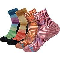HUSO Laufsocken atmungsaktive Coolmax Sportssocken Freizeit Sneaker Socken mit kurz schaft 1,3,4,7 Paar