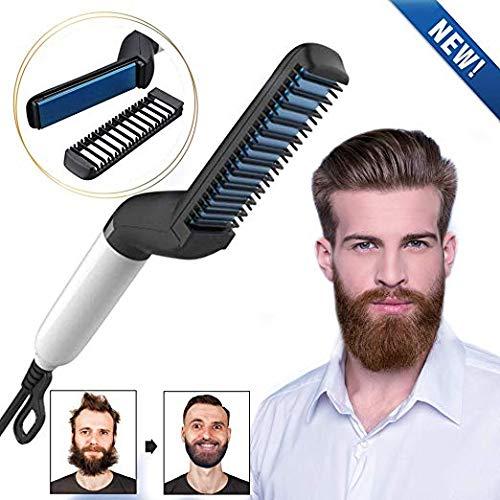 Plancha barba eléctrica hombres Cutie Academy - Peine