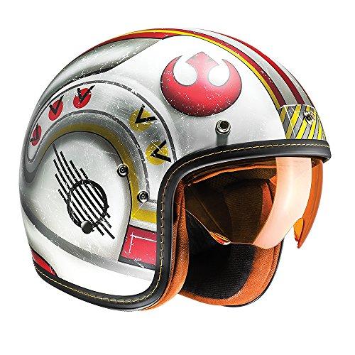 Hjc fg-70s viso aperto moto motocicletta casco X-Wing Fighter Pilot