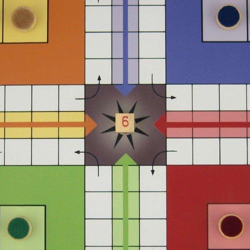 Ludo Juegos De Mesa Juego Para Ninos Con La Junta Magnetica Y Piezas
