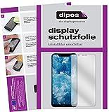 dipos I 6X Schutzfolie klar passend für Nokia 8.1 Folie Bildschirmschutzfolie