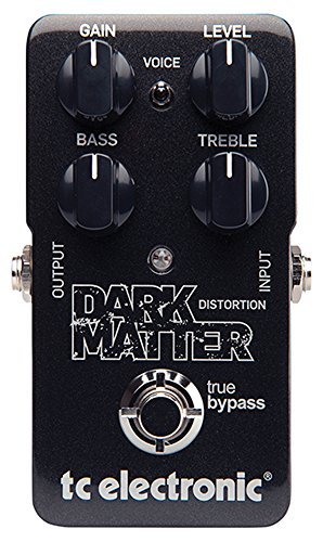 TC Electronic DARK MATTER DISTORTION - Pedal de distorsion, 2 band Eq