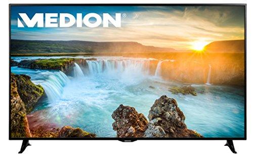 Medion Life X18098 MD 31192 163,9 cm (65 Zoll) LCD-Fernseher (LED-Backlight Technologie, UHD 4K, 3840 x 2160 Pixel, HD Triple Tuner, DVB-T2 HD/C/S2, CI+, Smart-TV) schwarz
