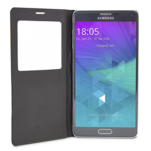 Funda SAMSUNG Galaxy Note 4 con ventana, Cover Flip