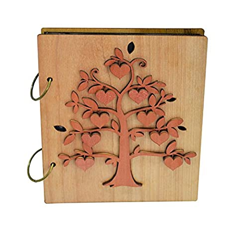 Giftgarden 6x4 Photo Album Heart Fruit of Family Tree Picture