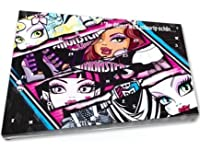 Monster High Adventskalender - Beauty und Kosmetik, Display