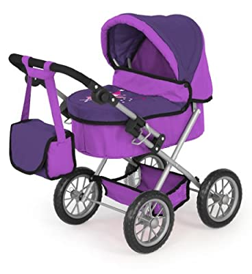 Bayer Design 13012 Trendy - Carrito para muñeco, color lila de Bayer Design