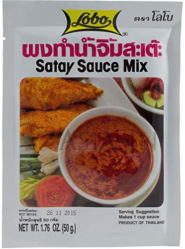 LOBO Saté Saucenmischung 50g Satay Sauce Mix [Sateé Sauce Mix]