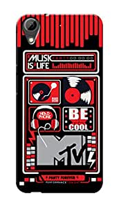 MTV Gone Case Mobile Cover for HTC Desire 628