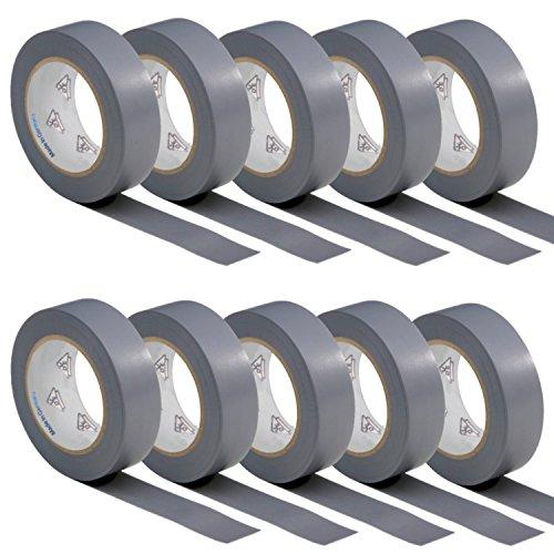 10-rotoli-vde-nastro-isolante-elettrico-pvc-nastro-adesivo-15mm-x-10m-din-en-60454-3-1-colore-grigio