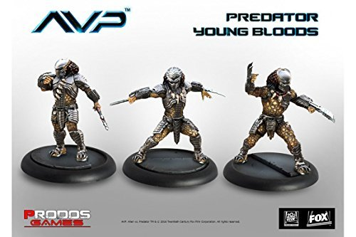 Alien Vs Predator Brettspiel The Hunt Begins Expansion Pack Predator Young Bloods *Englische Ver.*