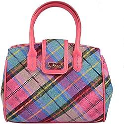 Ness - Bolso de tela de Lana para mujer rosa rosa