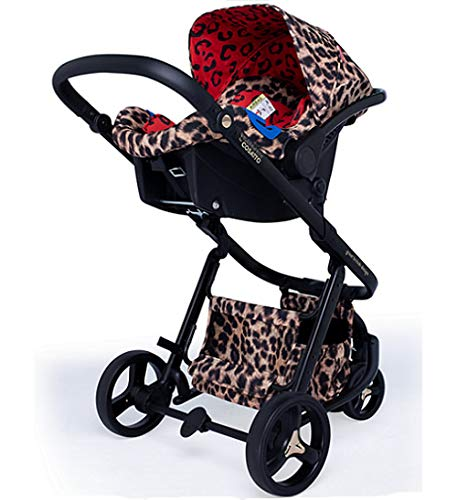 Cosatto Paloma Giggle 3 Travel Sytem Hear us Roar with Car Seat adaptors & Raincover Cosatto Includes - Pushchair, Carrycot, Port Car seat, adaptors and Raincover All round suspension Suitable from birth carrycot and Car seat 4