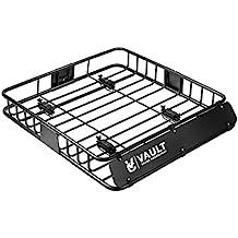 Bandeja universal para techo diseñada para fijar a tu vehículo mediante barras para crear un techo
