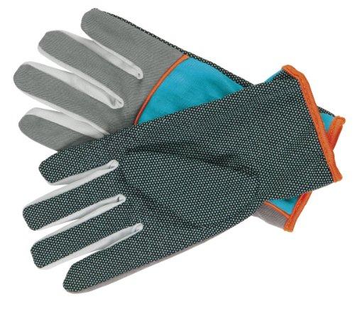GARDENA Pflanz- und Pflegehandschuh: Gartenhandschuhe für leichte Pflege- und Pflanzarbeiten, Größe 6/XS, atmungsaktiv, hochfunktional dank hoher Stoffqualität, griffige Beschichtung, Baumwolle (201-20)