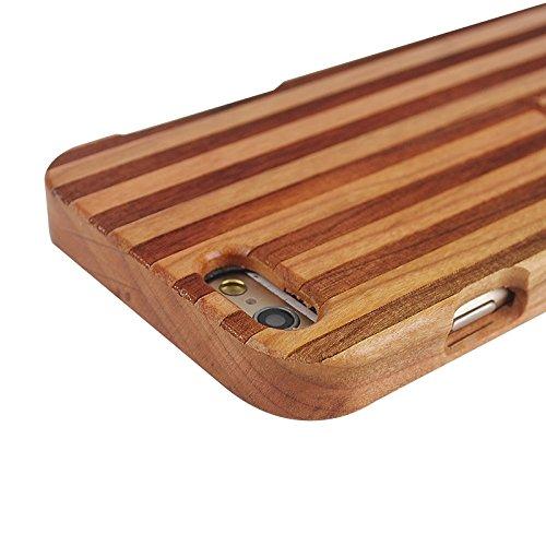 Pour IPhone 6 & 6S UK Flag Pattern Case en bois séparable JING ( SKU : S-IP6G-0336Q ) S-IP6G-0336J