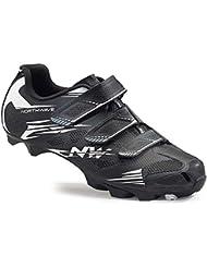 Northwave Scorpius 2 MTB Fahrrad Schuhe schwarz/weiß 2016