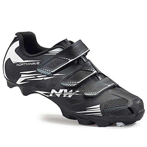 Northwave Scorpius 2 MTB Fahrrad Schuhe schwarz/weiß 2016 Schwarz / Weiss