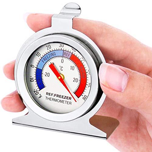 Yue668 2Pcs Edelstahl Haushalt Kühlschrank Gefrierschrank Thermometer Hängen Messer Tester Für Bar Home -